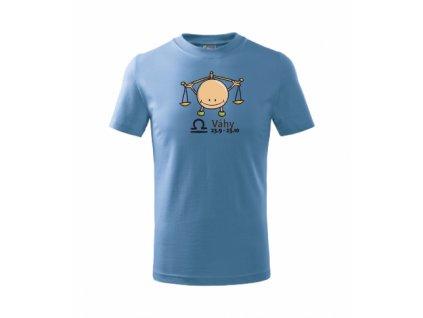 Dětské tričko znamení VÁHY