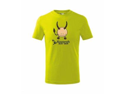 Dětské tričko znamení KOZOROH