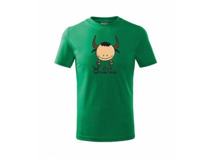 Dětské tričko znamení BÝK