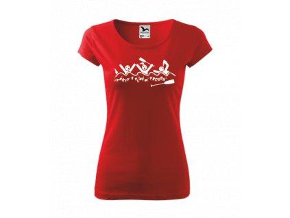 Vodácké tričko dámské PÁRTY V PLNÉM PROUDU