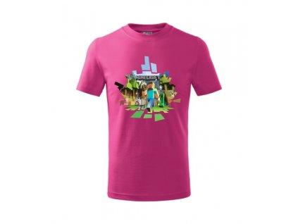 Tričko s MINECRAFT 2