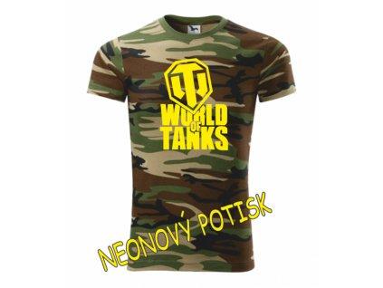 Dětské tričko s WORLD OF TANKS