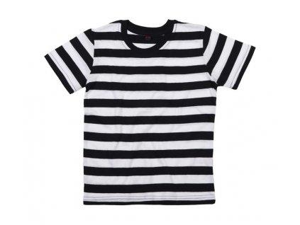 Dětské pruhované tričko