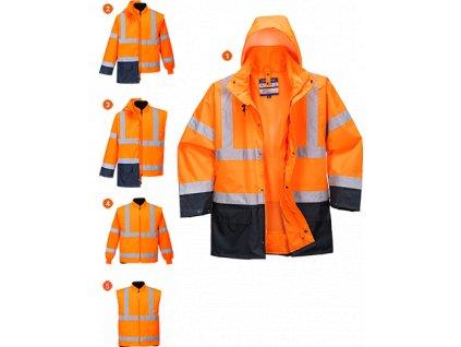 Dvoubarevná bunda Essential 5v1