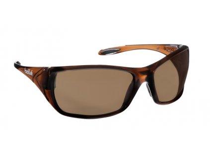 Brýle BOLLE VOODOO hnědé 99,99% ochrana