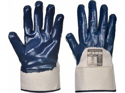 Nitrilová rukavice Safety Cuff