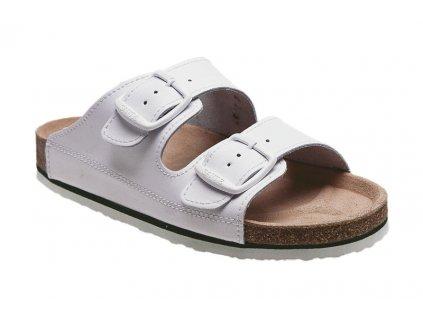 Zdravotní pantofel SANTÉ bílé
