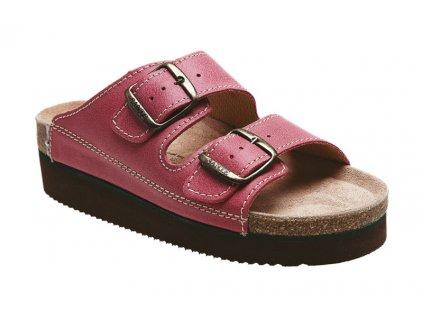 Zdravotní pantofle SANTÉ růžové