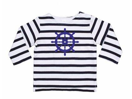 Dětské pruhované tričko KORMIDLO