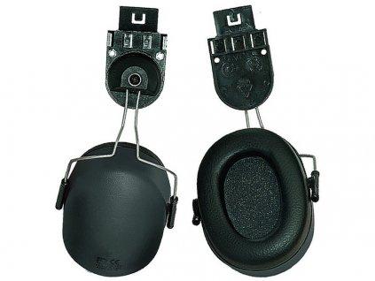Mušlové chrániče sluchu s úchyty na přilbu EP167