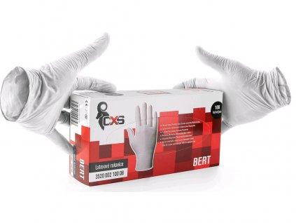 Jednorázové latexové rukavice BERT