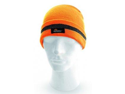 Zimní reflexní čepice KEADY
