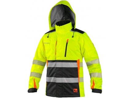 Pánská výstražná zateplená bunda CXS BENSON
