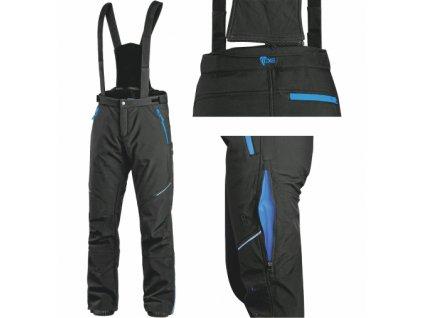 Pánské zimní softshellové kalhoty CXS TRENTON
