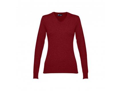 Dámský svetr s výstřihem do V MILAN WOMEN