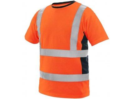 Pánské výstražné tričko CXS EXETER