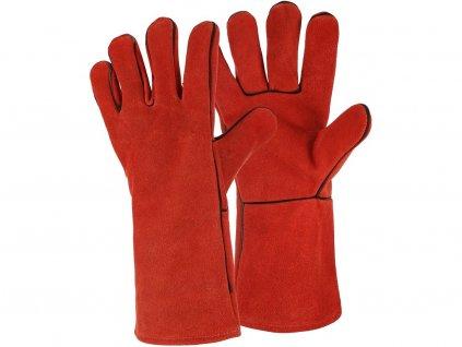 Svářecí rukavice CXS PATON RED