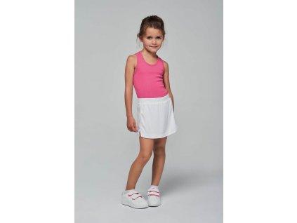Dětská tenisová sukně - Výprodej
