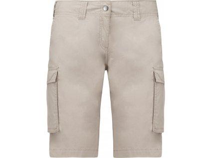 Dámské šortky s kapsami - Bermudy