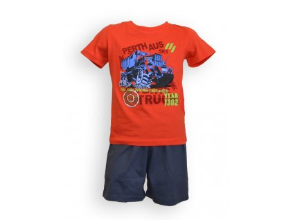 Dětské pyžamo - chlapecké, kr. rukáv