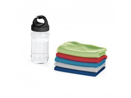 Sportovní ručník s obalem ve tvaru láhve ARTX PLUS