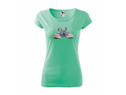 Tričko dámské TENISKY