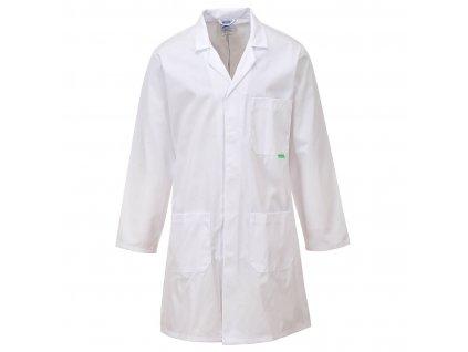 Antimikrobiální laboratorní plášť