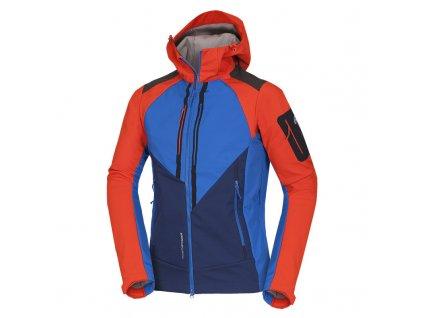 Pánská outdoor softshellová bunda s ochrannou vrstvou 3L BARRETT BU-3900OR