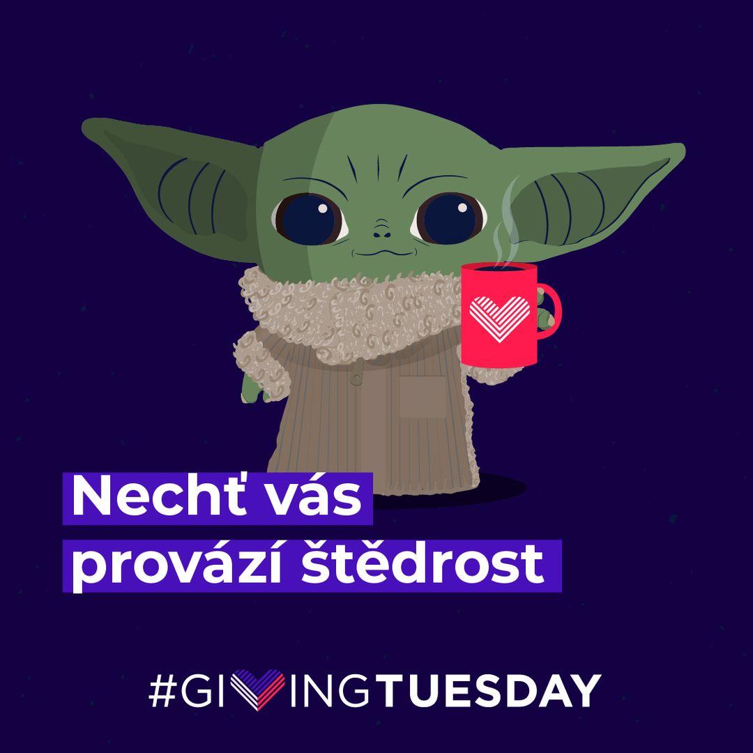 Giving Tuesday - Světový den štědrosti a dobrých skutků