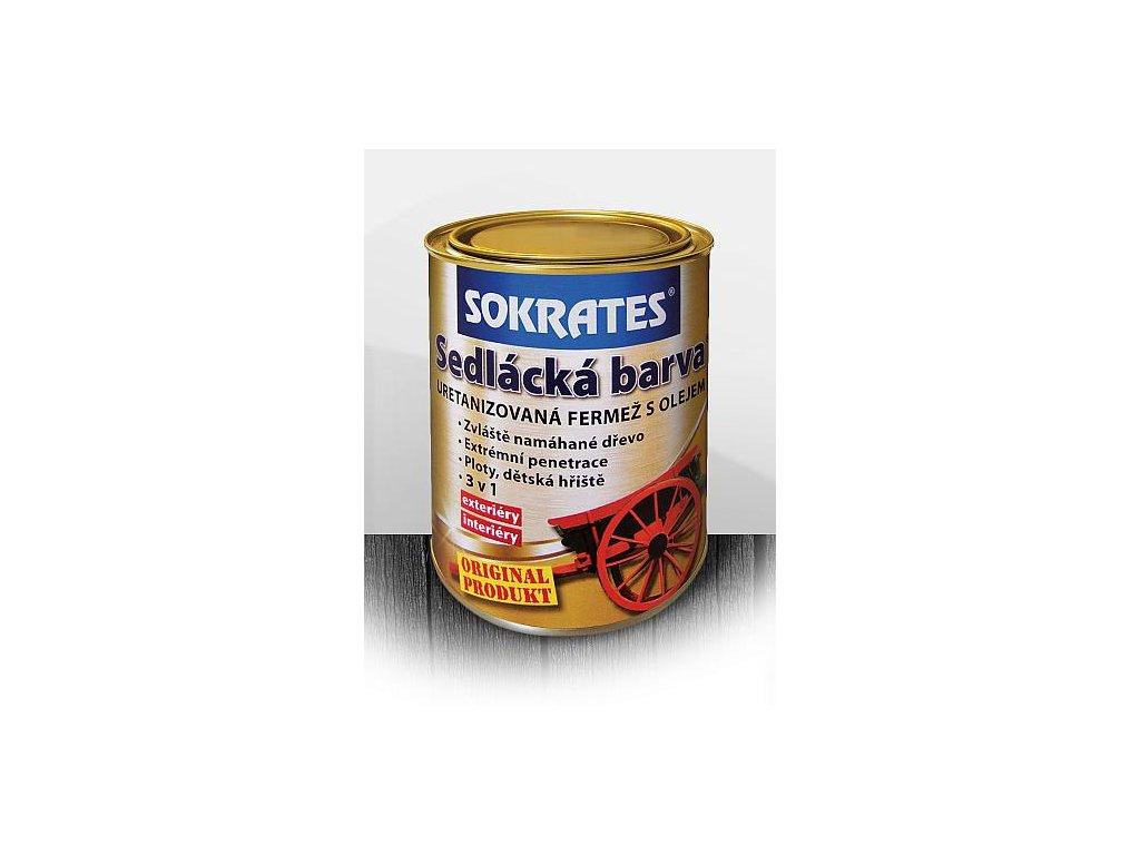 Sokrates sedlácka farba fermež s olejom 0,7kg podla vzorkovníka