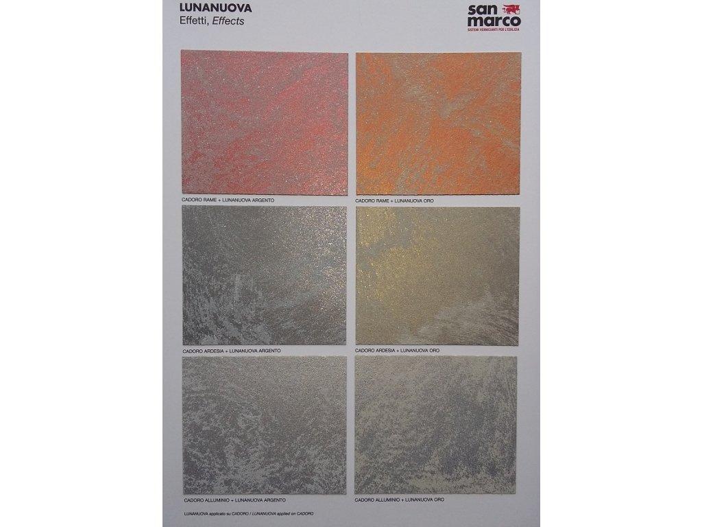 Farebná farba pod LUNANUOVU 4kg