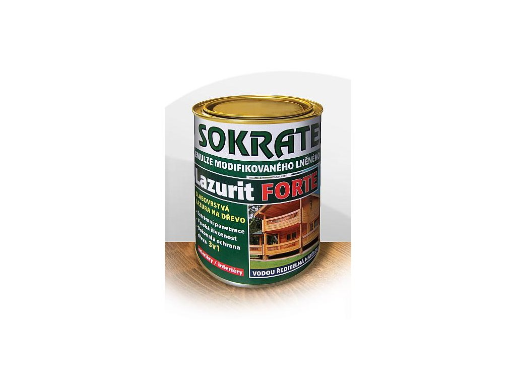 Sokrates lazurit Forte s lanovým olejom 4kg podla  vzorkovníka