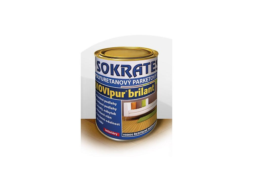 Sokrates movipur brilant polyuretánový lak 0,6kg matný