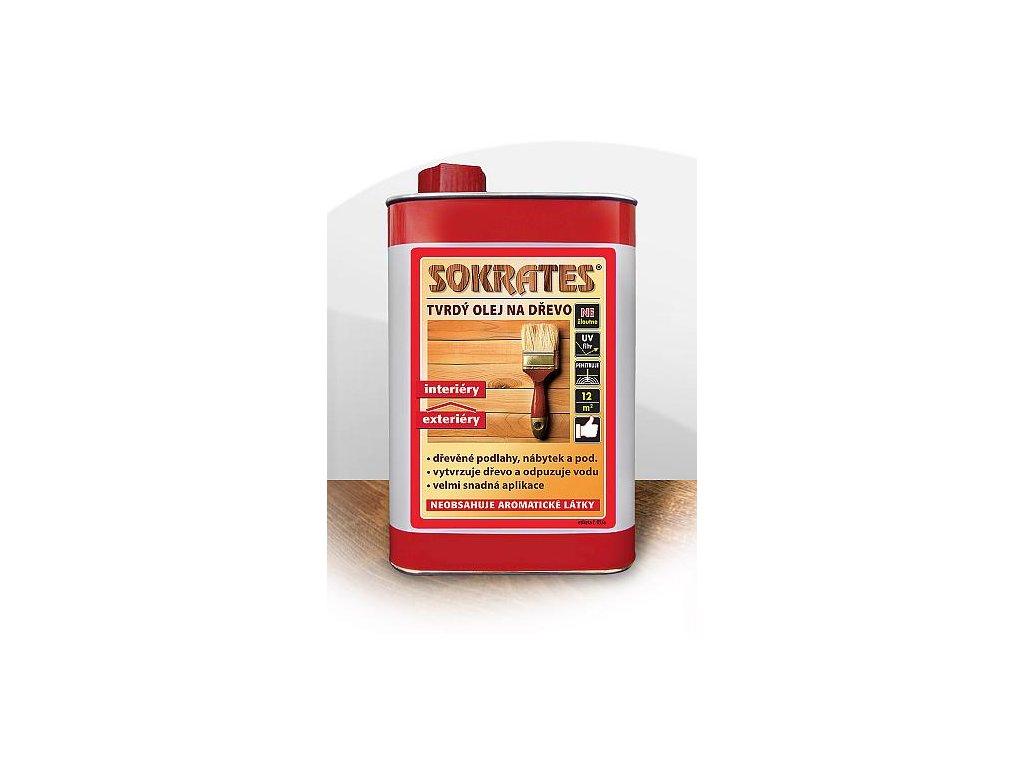 Sokrates tvrdý olej na drevo 2,5l bezfarebný