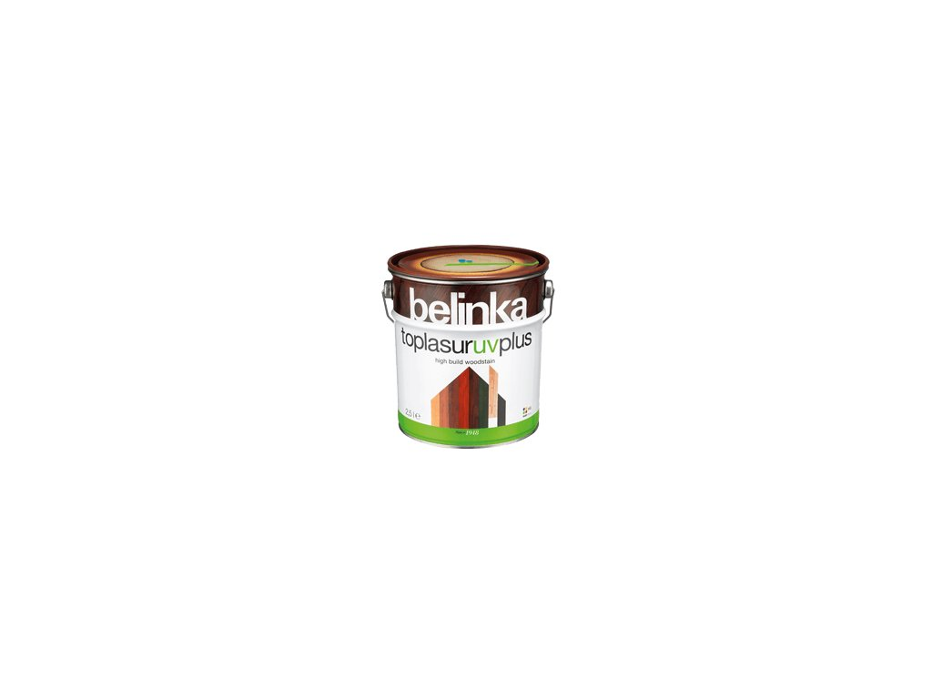 Belinka Toplasur UV plus hrubovrstvá lazúra 2,5l mix odtienov