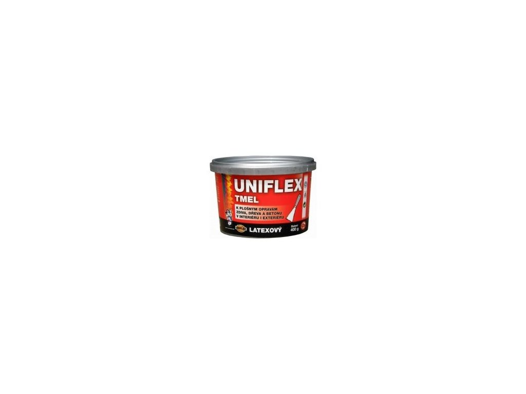 UNIFLEX Latexový tmel biely 400g