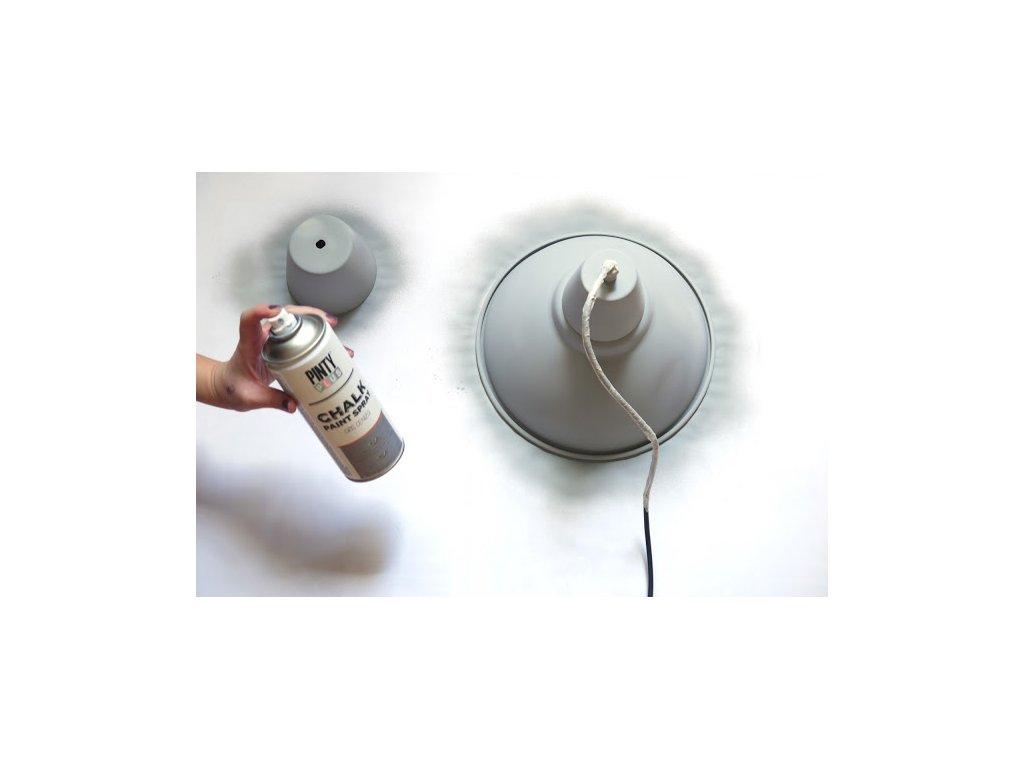 Pinty Plus kriedový sprej šedivá 400ml CK798