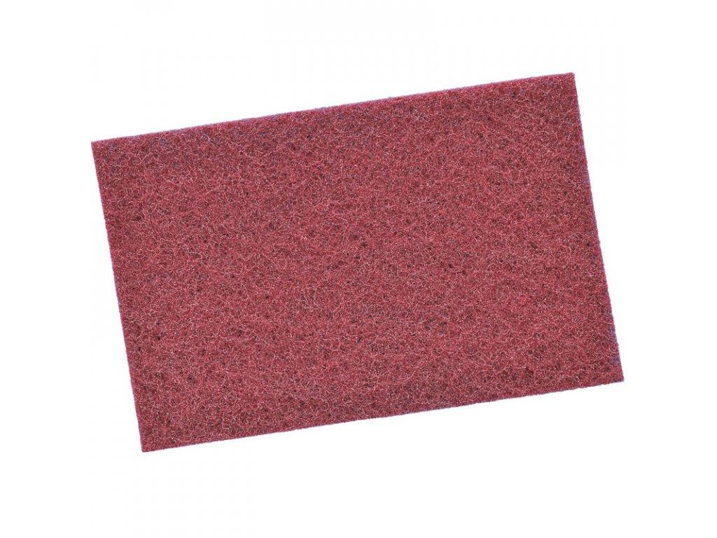 Brúsne rúno rada 925 rozmer 150 x 230mm červené P 320