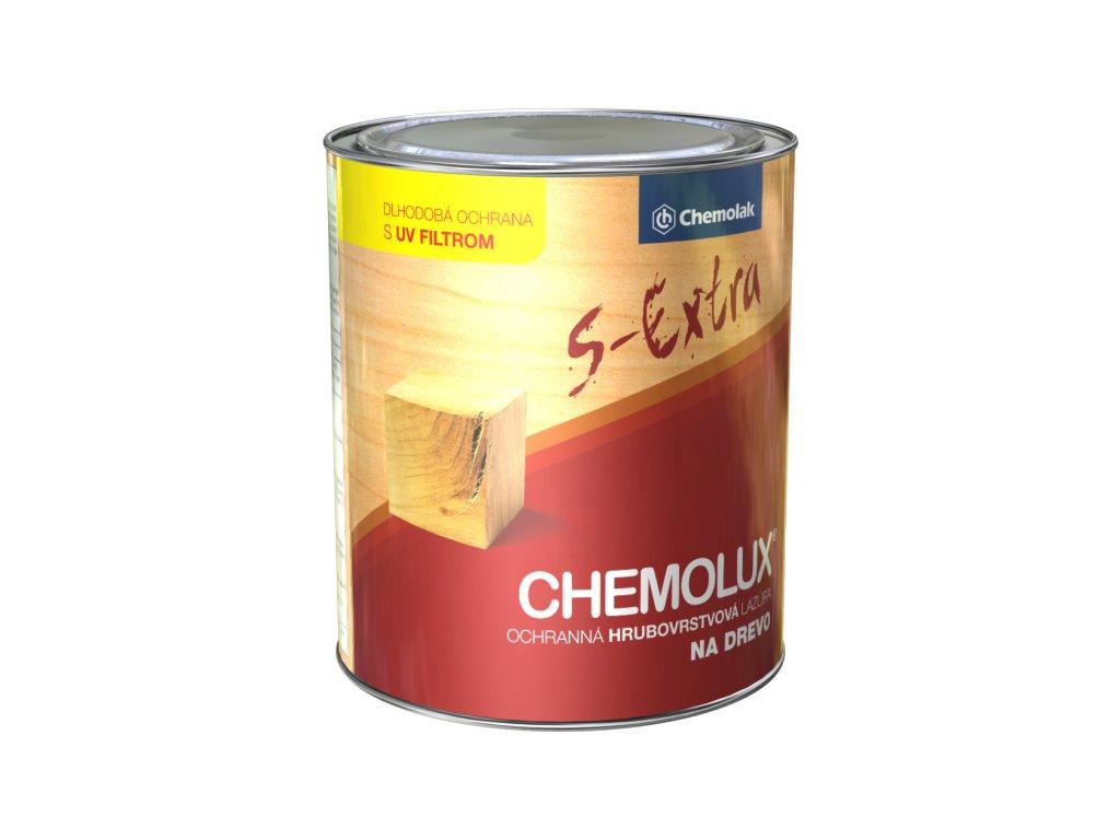 Chemolux s-extra silnovrstvá lazúra na drevo 0,75L