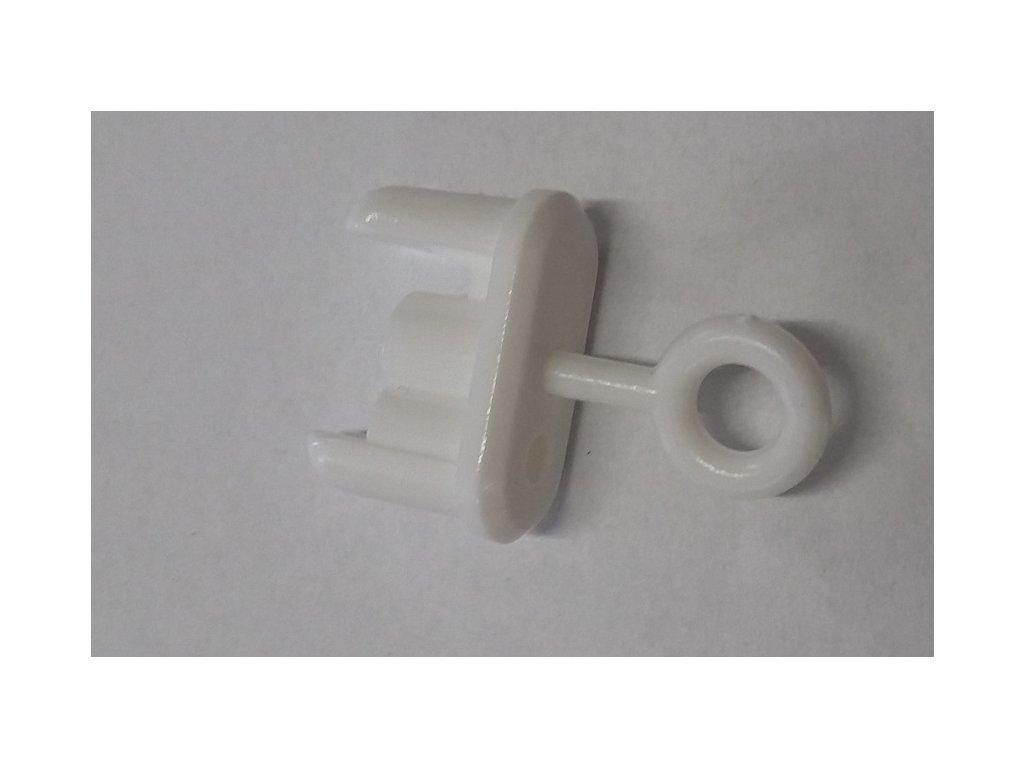 Vodiace oko spodnej lišty žalúzie biele - 5ks 9070106