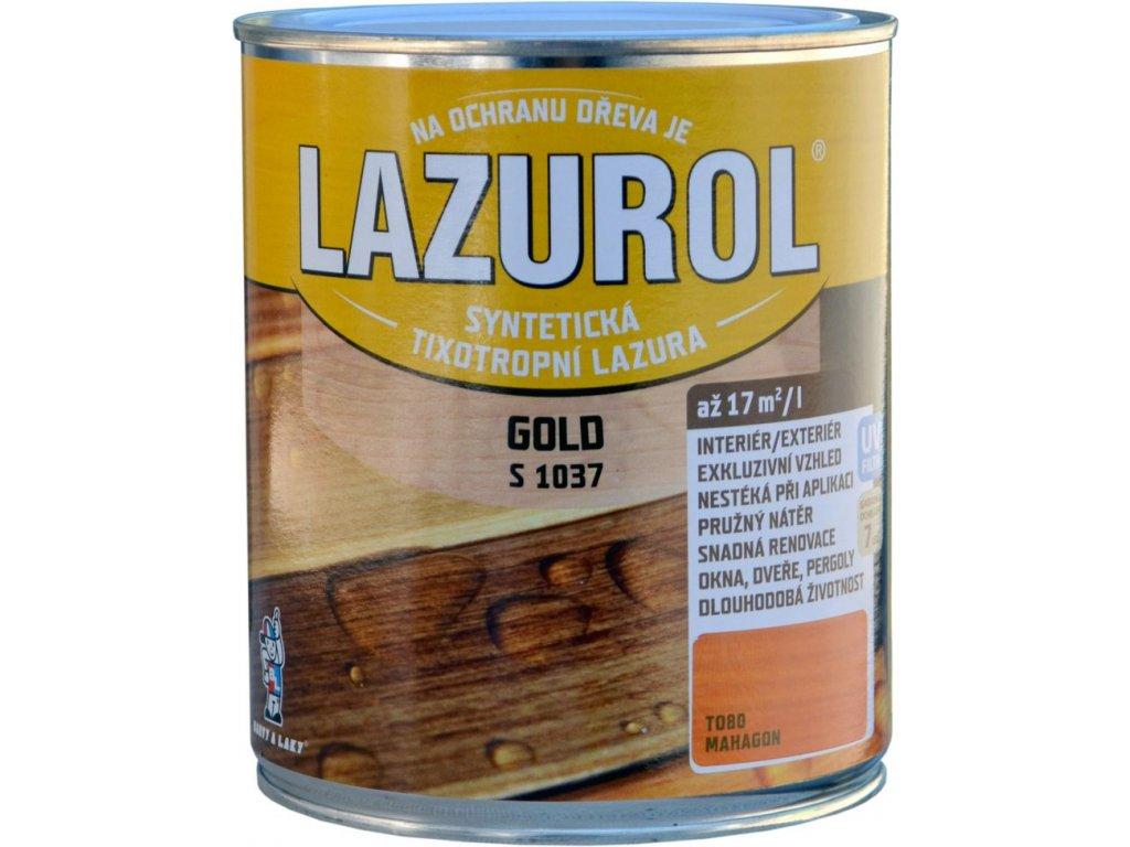 LAZUROL Gold hrubovrstvá 0.75l podla vzorkovníka