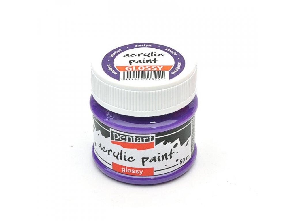 Akrylová farba lesklá ametyst 50ml 13371