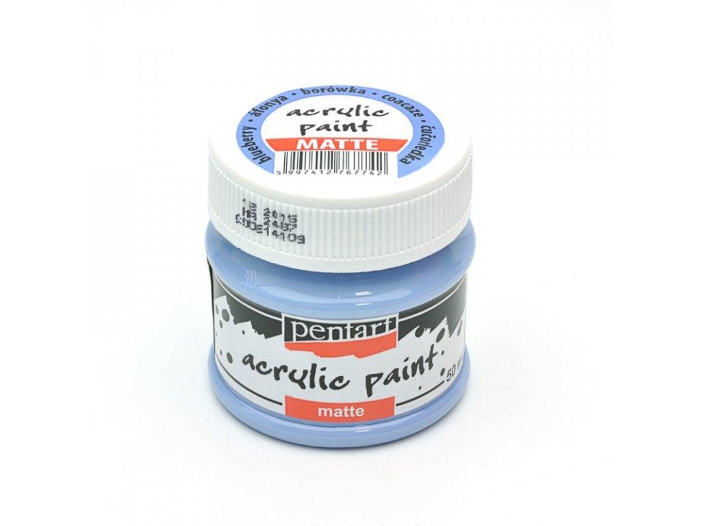 Akrylová farba matná čučoriedka 50ml 14109