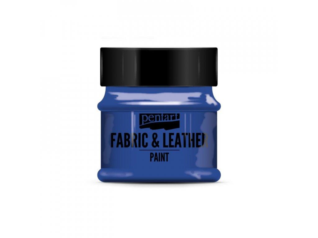 Farba na textil a kožu modrá 50ml 34816