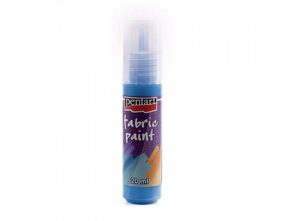 Farba na textil svetlo modrá 20ml tuba 3494