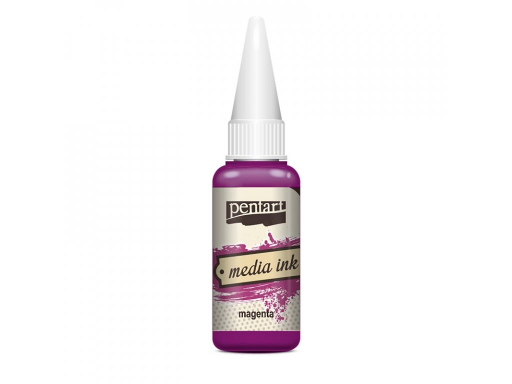 Media INK atrament farbivo do epoxidovej živice 20ml magenta 21019