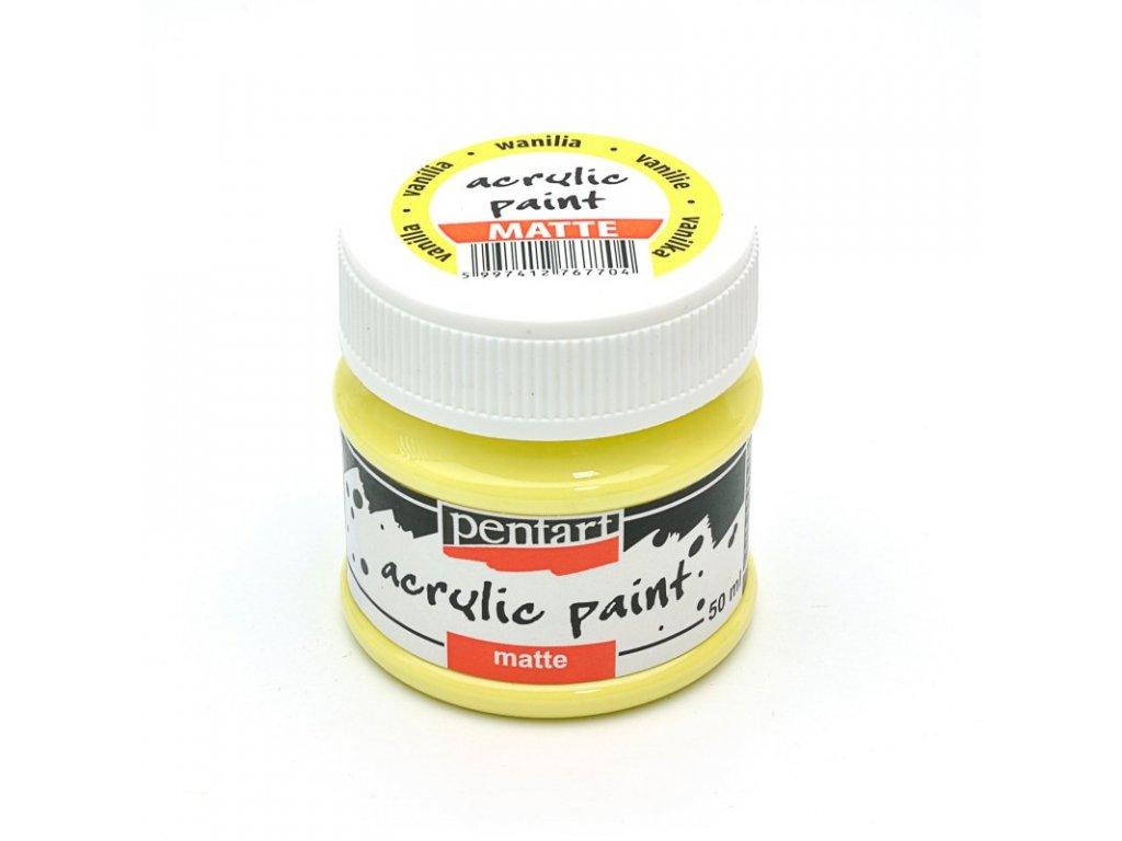 Akrylová farba matná vanilka 50ml 14105