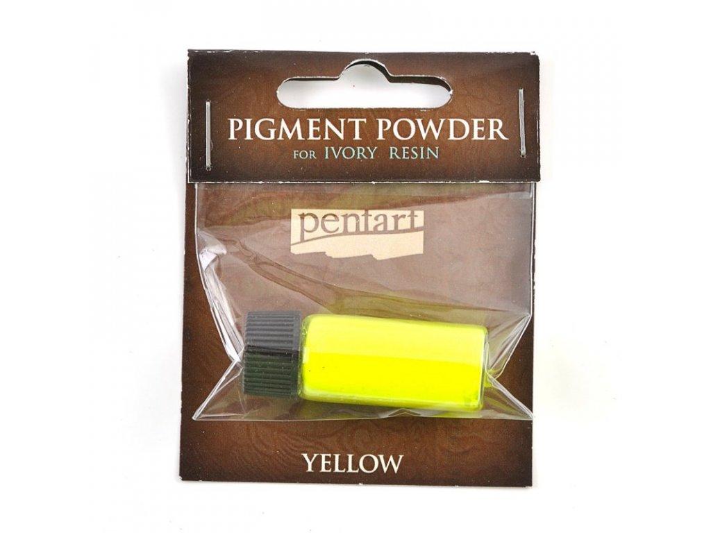 Pigmentový prášok NEON žltý 6g 34352