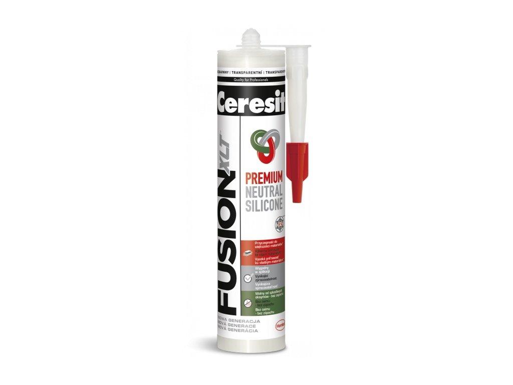 Ceresit FUSION XTL premium neutral silicone 280ml transparent