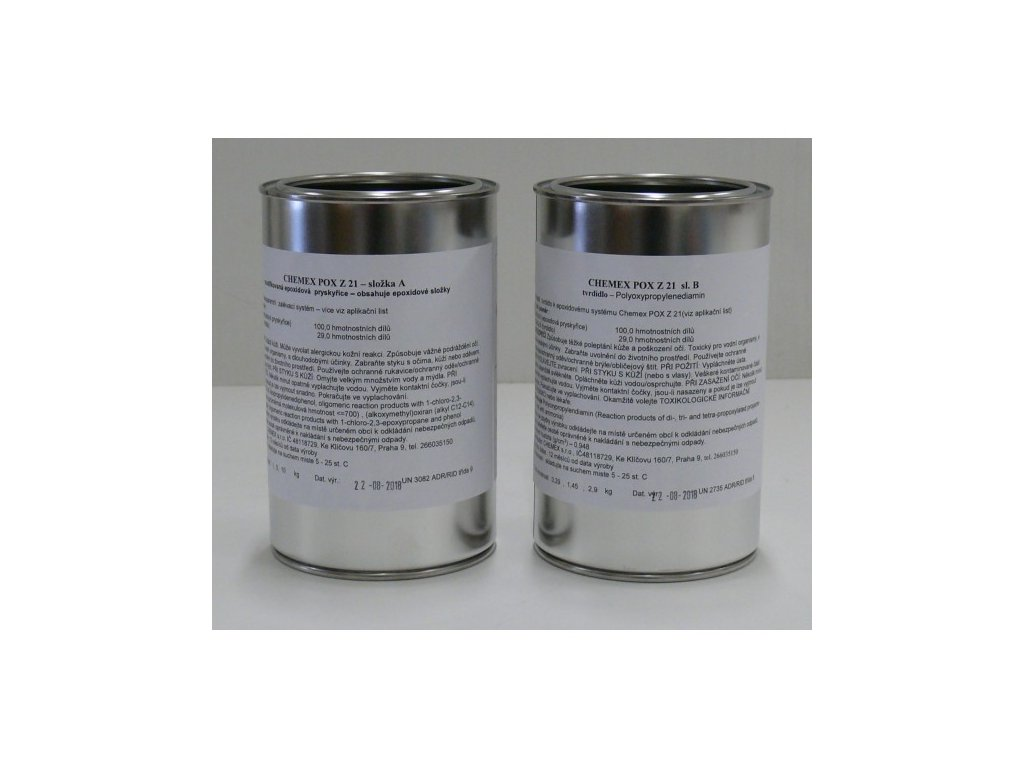 Chemex  POX Z21 epoxidová živica na zalievanie číra sada 6,45kg TOP kvalita